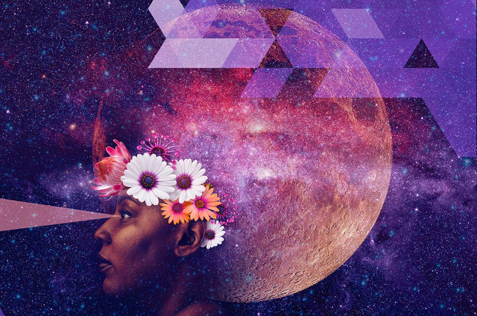 Afrofuturistic Portrait